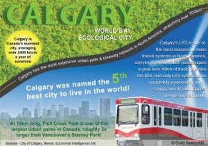 Calgary named one of Canada's greenest sustainable cities