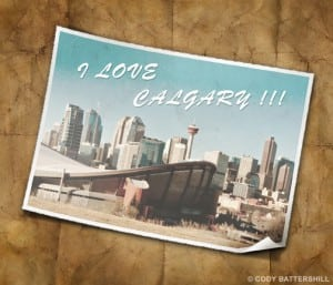 A post card from Calgary which was named one of Canadas top travel destinations