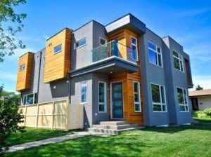 Altadore new inner city infill home in Calgary