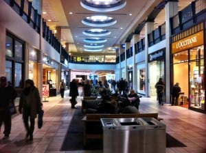 Calgary Chinook Centre Mall Interior Walkway
