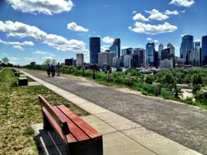calgary best tourist attractions - Crescent Heights Hill