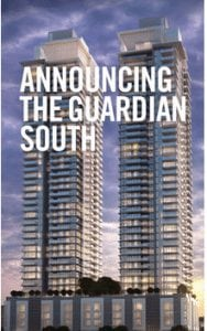 The Guardian South Tower New Condos in algary