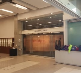 nickle galleries entrance university of calgary library