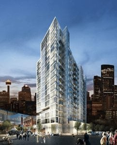 n3 condos by knightsbridge downtown calgary east village exterior architecture