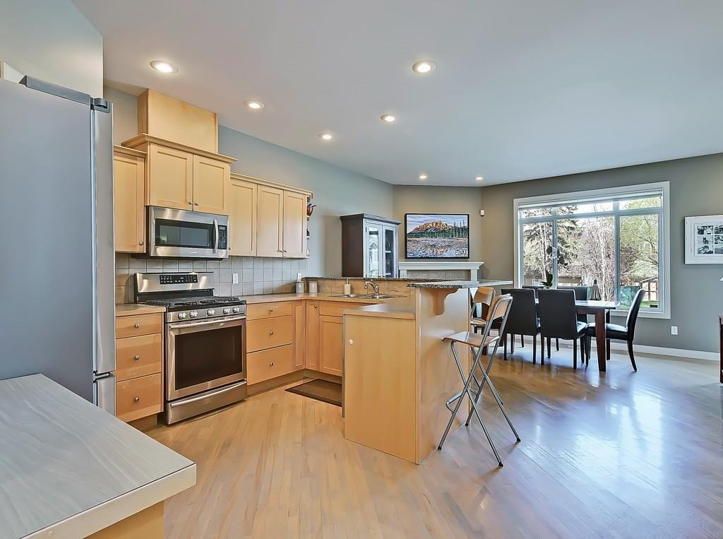hillhurst home for sale calgary kitchen view