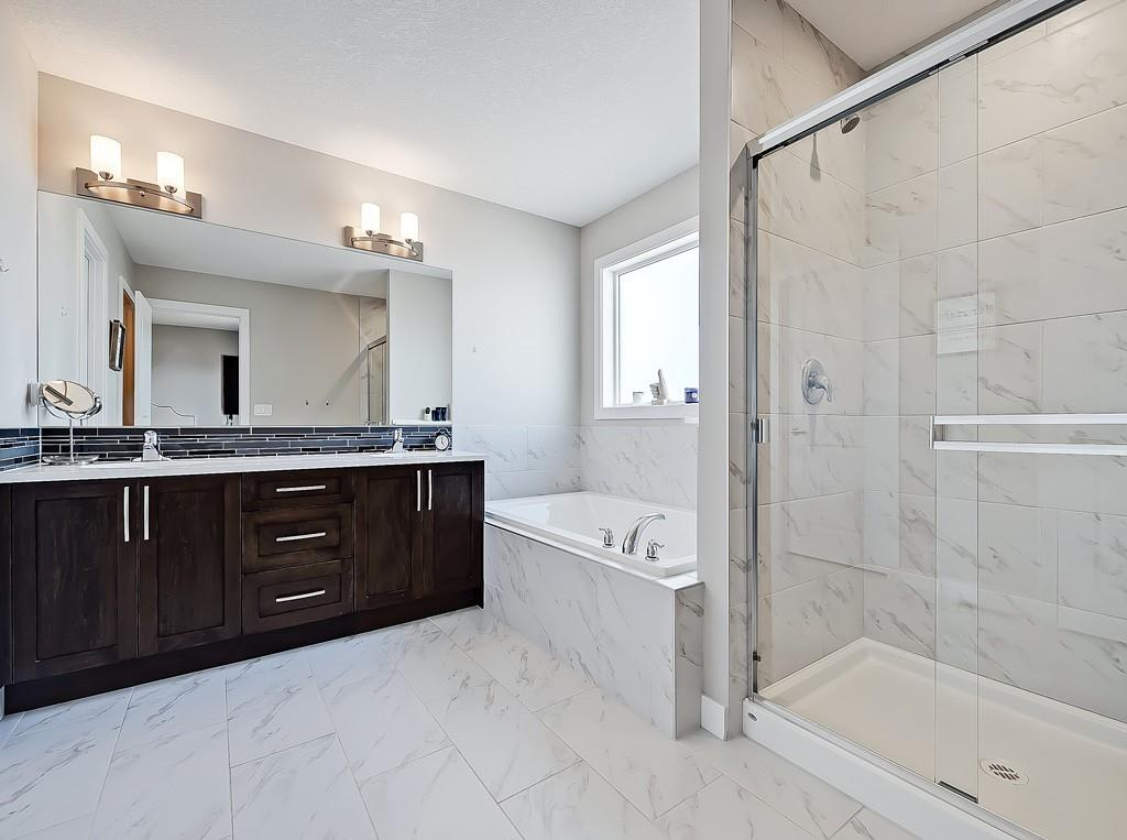 chestermere home for sale master ensuite bathroom view